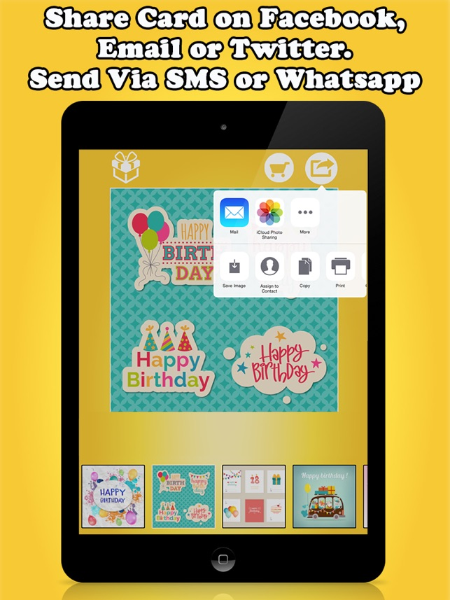 Birthday Cards Greetings Free On The App Store