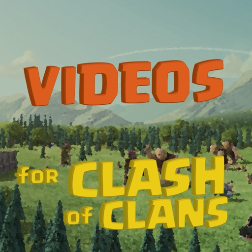 """Videos """"for Clash of Clans"""" - Guide, Funny, Tutorial iOS App"""