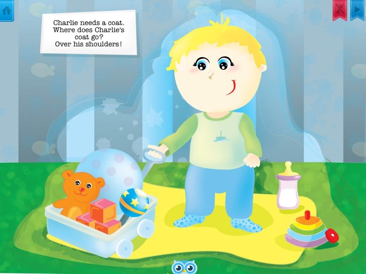 Charlie Goes Outside - Have fun with Pickatale while learning how to read! screenshot-3