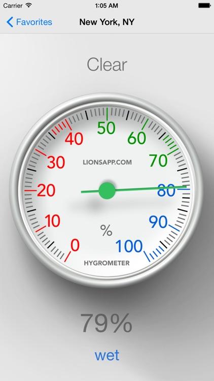 Hygrometer - Check humidity screenshot-0
