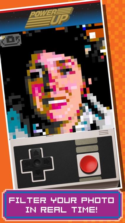 PowerUp - Retro 8-bit Video Game Camera screenshot-0