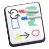 Whiteboard - Sketch, Doodle and Share - Daeo Corp. Software