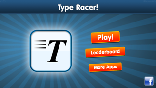 Type Racer - a game about typing fast screenshot one