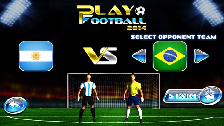 Play Football 2014 Real Soccer - Fantasy Simulation and a Comprehensive Manager Sports Game For iPhone and iPad Pro screenshot-4