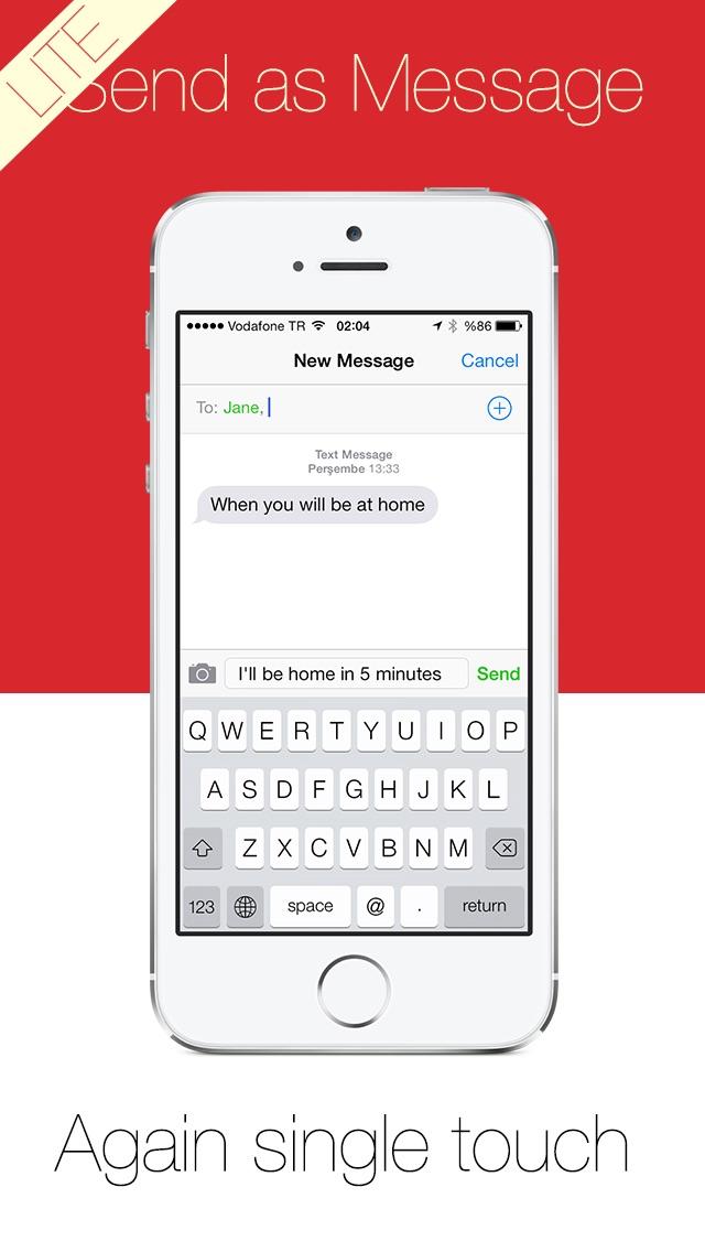 Write Lite -  一鍵式語音到文本聽寫,語音識別,直接短信和電子郵件提醒。屏幕截圖2