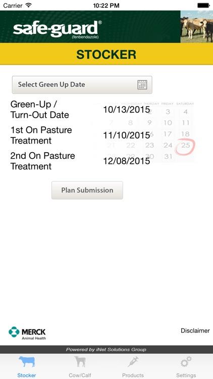 Safe-Guard Pasture Deworming Calculator by Intervet International B V