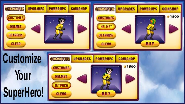 Super Hero Action Jump Man - Best Fun Adventure Jumping Race Game