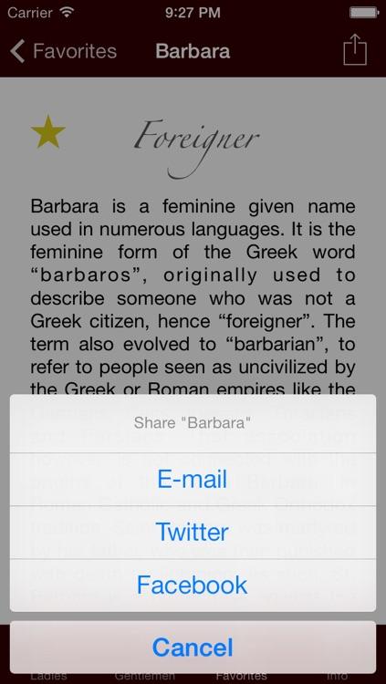 Namer - The Origin of Names screenshot-4