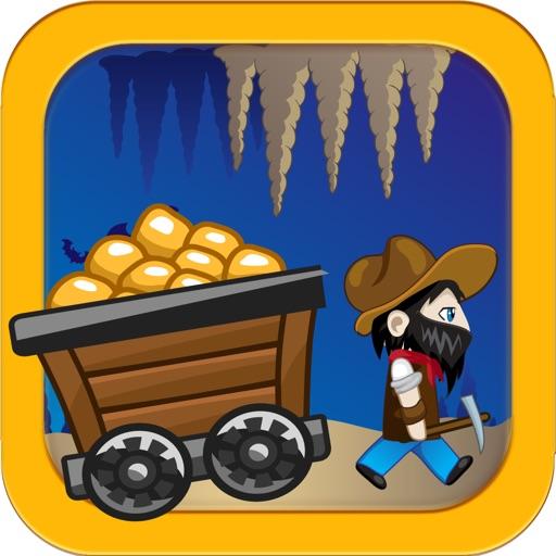 Free Mine Runner Games - The Gold Rush of California Miner Game
