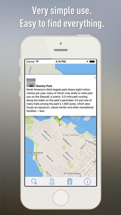 Offline Map Vancouver - Guide, Attractions and Transports screenshot-3