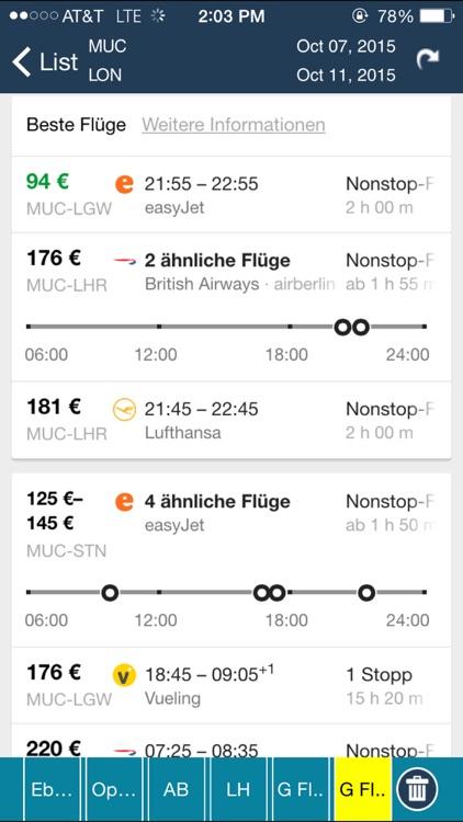 Munich Airport (MUC) Flight Tracker München screenshot-3