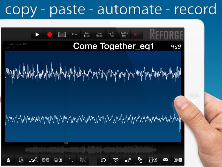 Reforge - Waveform Editor