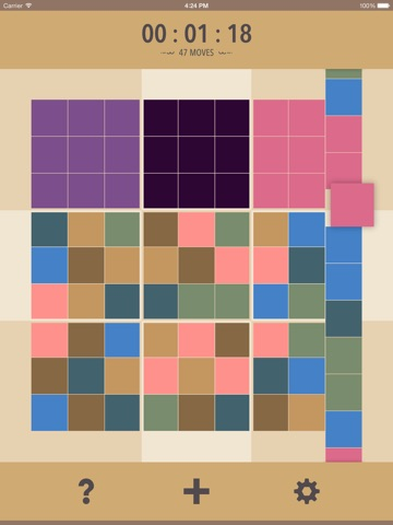 SLUZZULS — Puzzle Game Screenshot