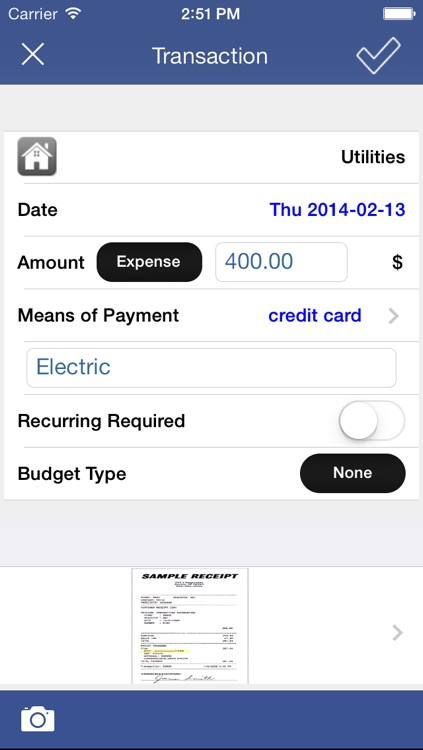 Expense Tracker with Pocket Budget