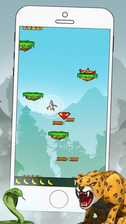Gorilla Jump FREE screenshot-3