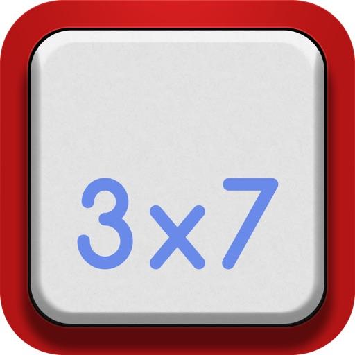 Vintage Multiplication Table