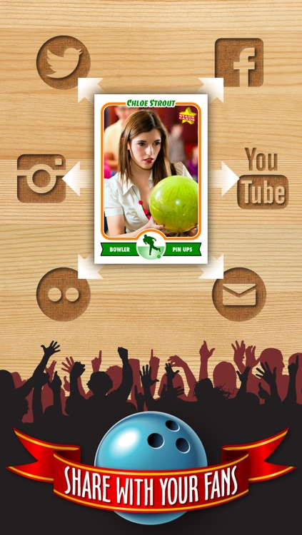 Bowling Card Maker - Make Your Own Custom Bowling Cards with Starr Cards screenshot-3