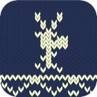 Knitted Deer icon