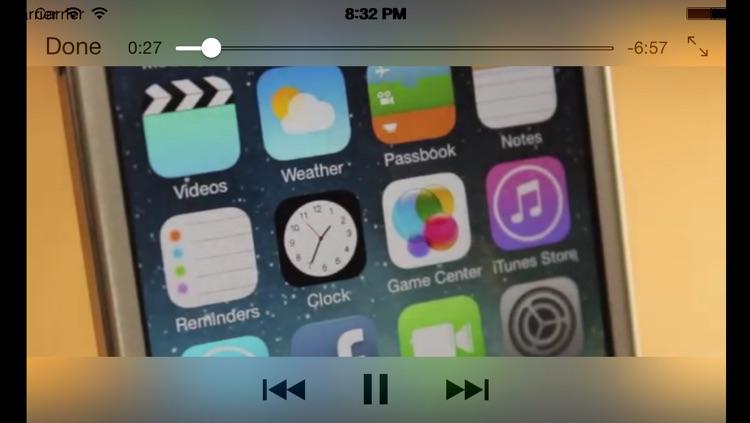 Guide for iOS7, iPad Air