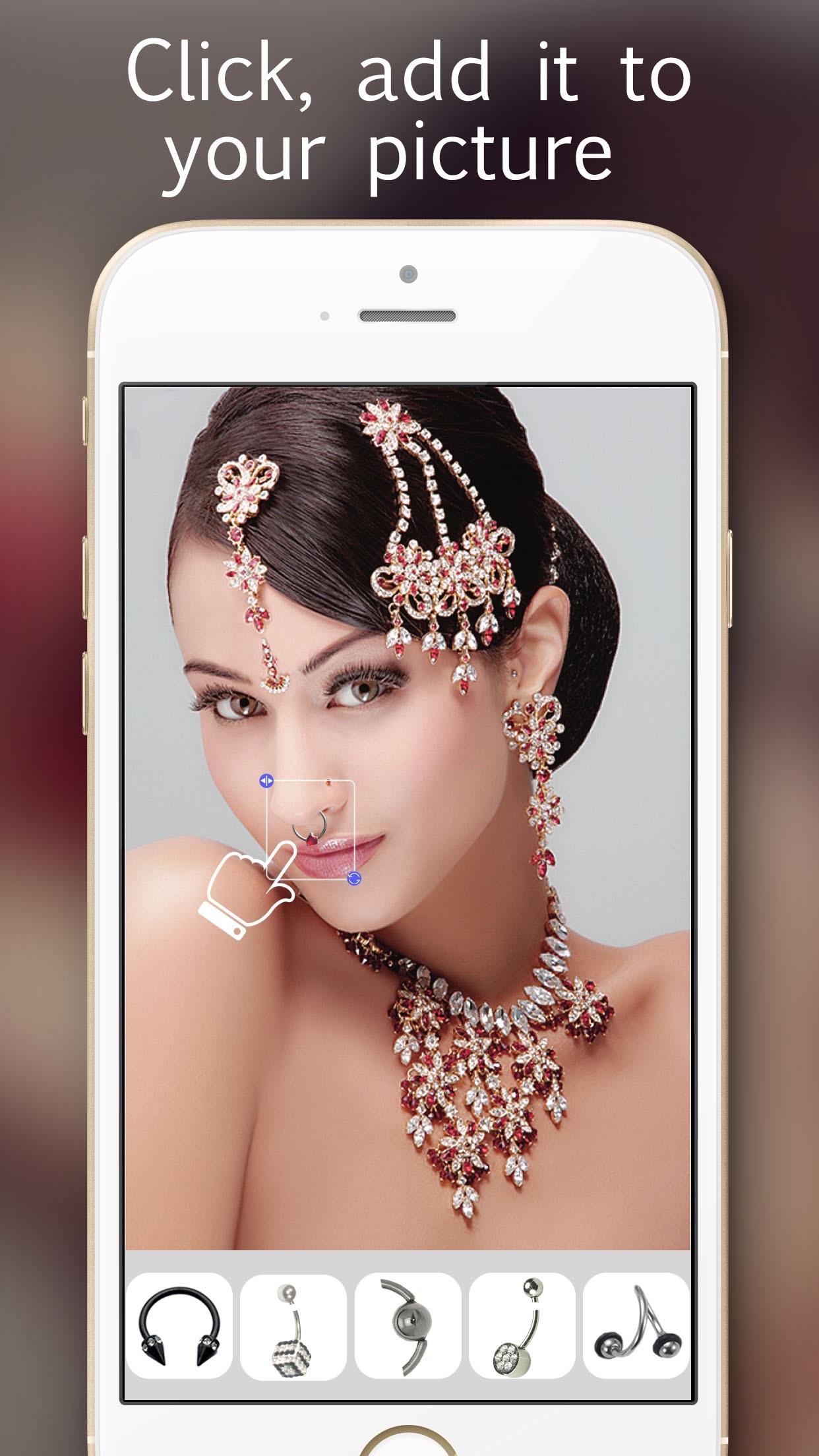 Tattoo & Piercing - Virtual Art Inked & Pierced Designs Photo Salon Screenshot