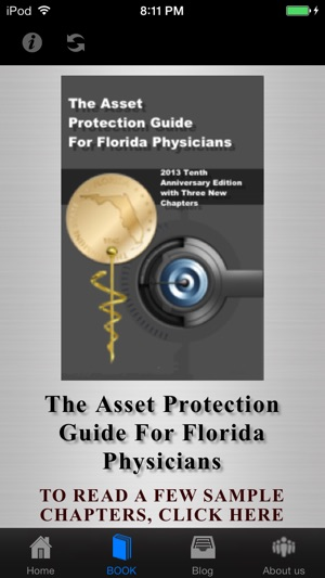 The Florida Asset Protection app was created by Adam O