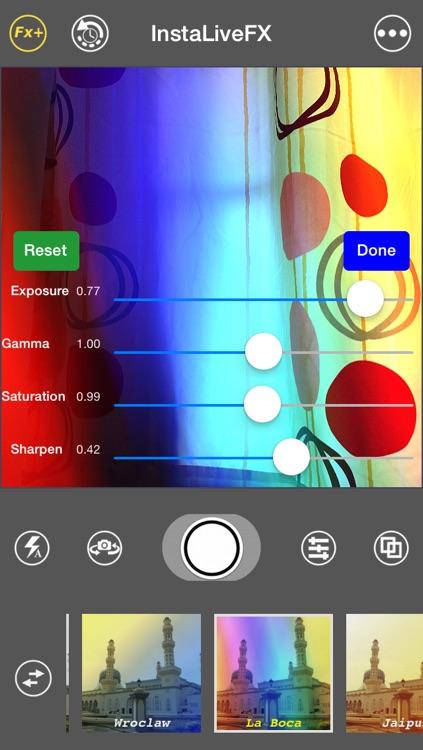InstaLiveFX - awesome live camera filter & photo effect screenshot-4