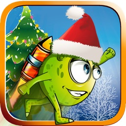 Alien XMAS Adventure - Shoot and Jump Free