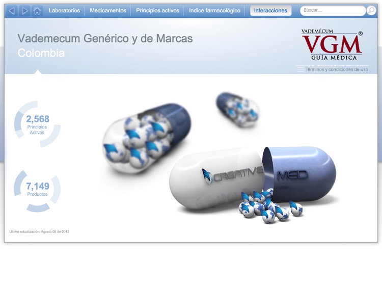 Vademécum VGM Colombia screenshot-0