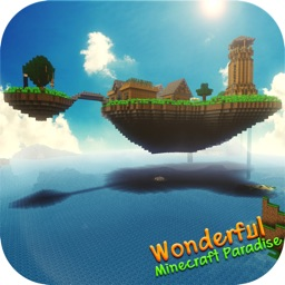 Wonderful Paradise Model Wallpaper for Minecraft
