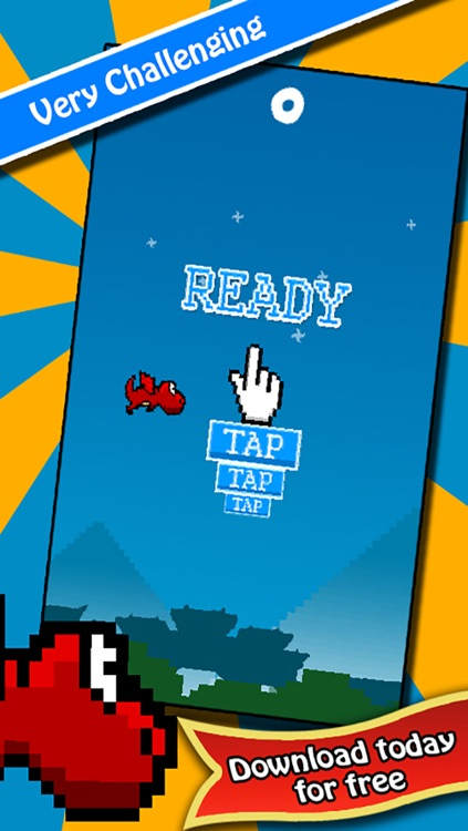 Vird The Flapping Dragon - 2 Player Flying Wings Game screenshot-3