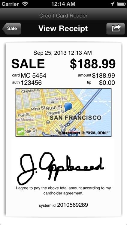 Credit Card Reader screenshot-4