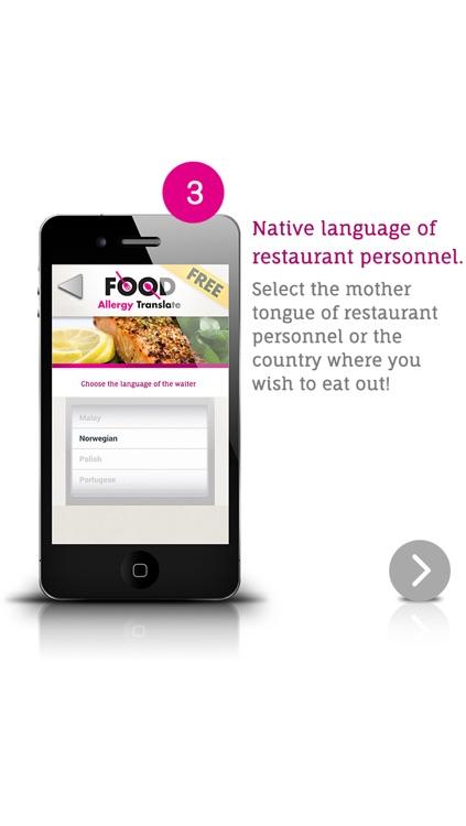 Food Allergy Translate Free