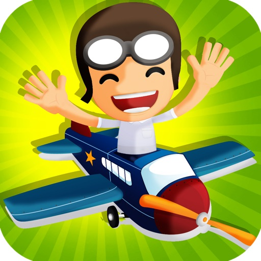 Flying Addictive Airplane Game icon