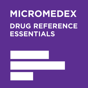 Micromedex Drug Reference Essentials app