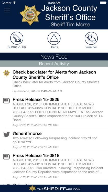 Jackson County Sheriff's Office KS
