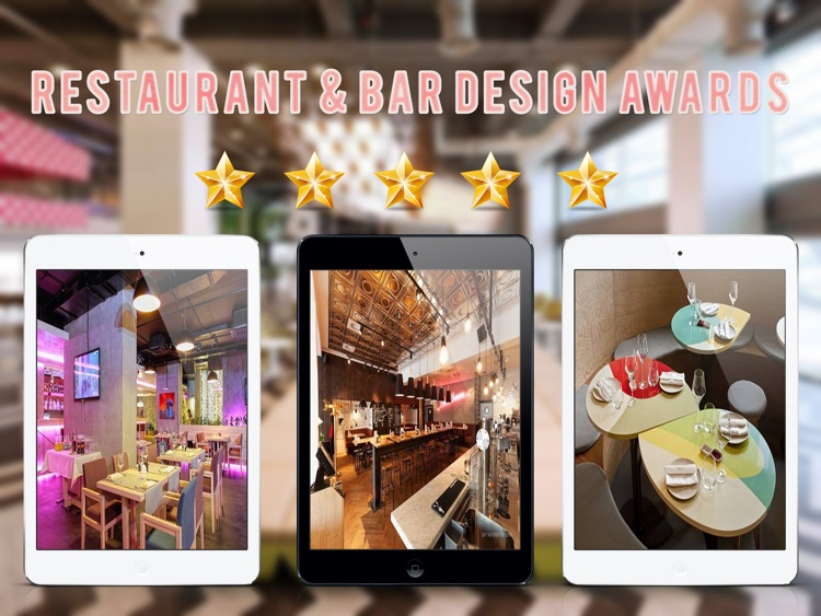Restaurant & Bar Design Ideas For iPad