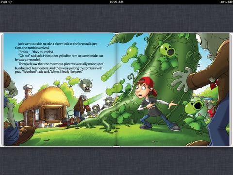 plants vs zombies brains and the beanstalk by annie auerbach