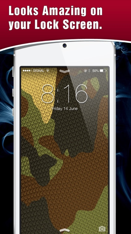 HD Camouflage Wallpaper! Retina Lock Screen Of Army Backgrounds & Themes screenshot-3