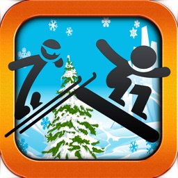 Extreme Stickman Snowboarding Game - Pocket Snowboard Games