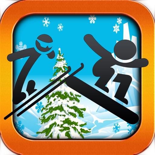 Extreme Stickman Snowboarding Game - Pocket Snowboard Games