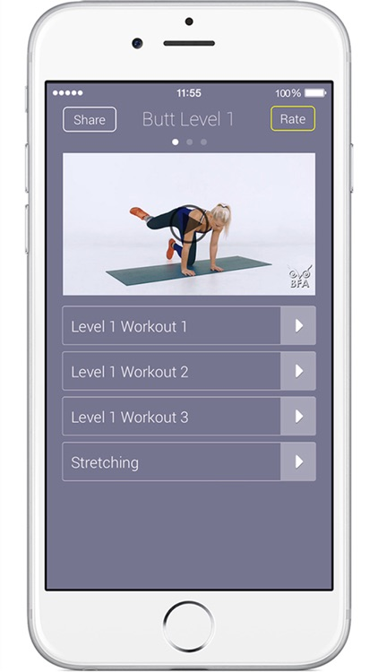 Butt App - Fitness Exercises and Buttock Workout