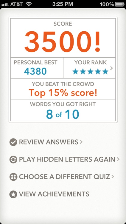 Quizzitive – A Merriam-Webster Word Game screenshot-4