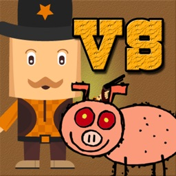 Cowboys VS Zombie Pigs
