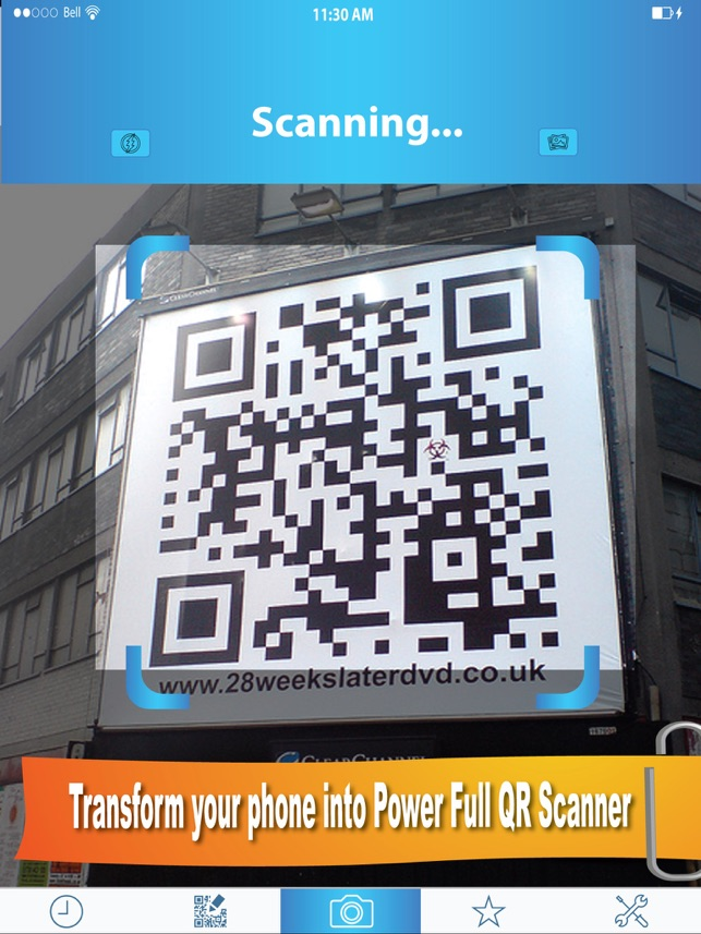 Turbo QR Scanner Pro - Scan, Decode, Create, Generate Barcode & QR Code Reader instantly Screenshot