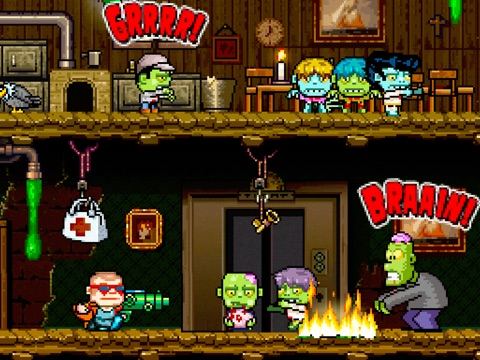 Crazy Bill: Smashing Zelebrities at the zombie stars hotel на iPad