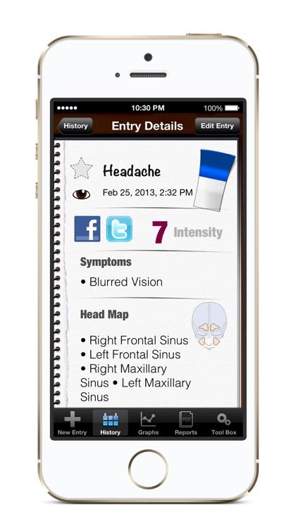 My Pain Diary: Chronic Pain & Symptom Tracker screenshot-4
