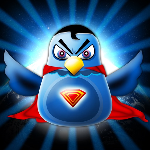 Bird Superhero - Flying Warrior