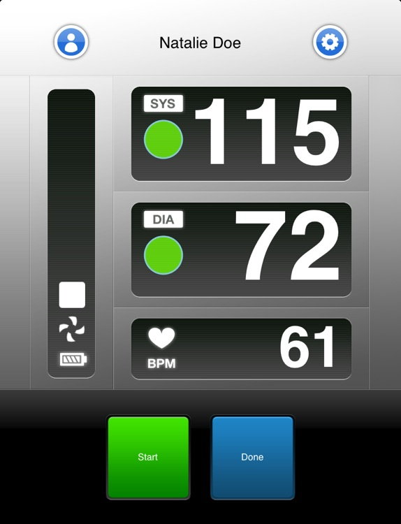 Wiscale - iPad version for weight and blood pressure only screenshot-4