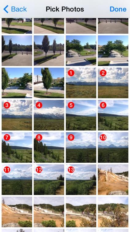 Auto Stitch Pic - Merge Panorama Easy screenshot-4