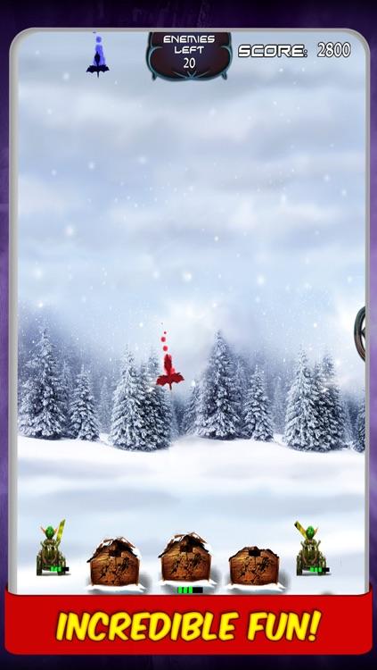 Battle of Elves Game : Fun missile defence games against magic birds